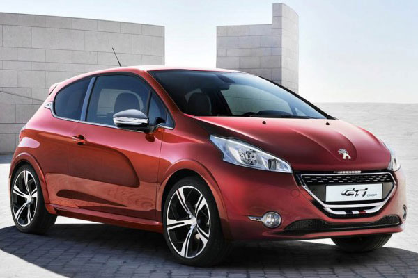 dzautos magazine automobile peugeot 208 gti motorisation 1 6 thp 200ch. Black Bedroom Furniture Sets. Home Design Ideas