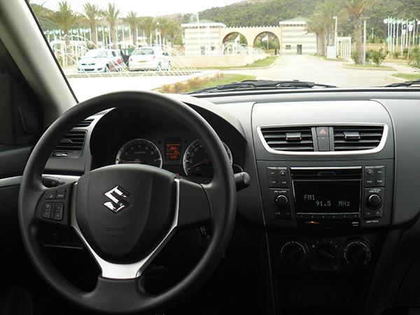 DZautos : Magazine Automobile: La Suzuki Swift HB (5 portes) fait son retour